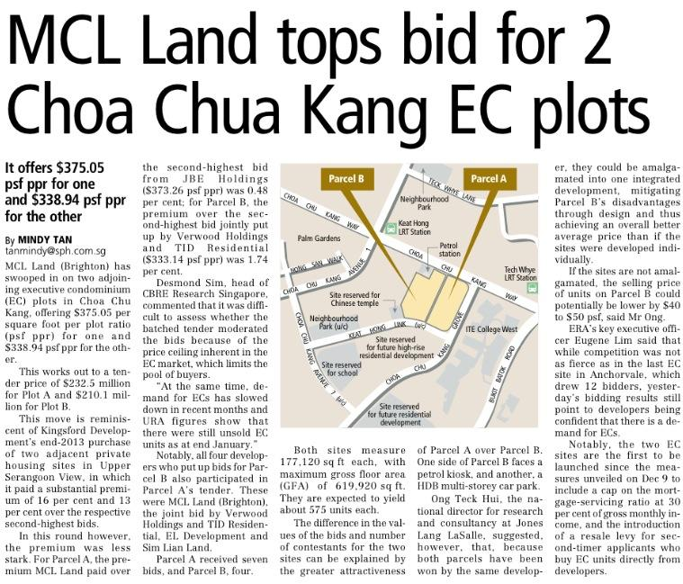 new Ec launch in CCK