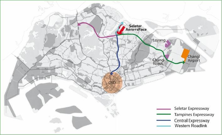 map-of-seletar-aerospace-park