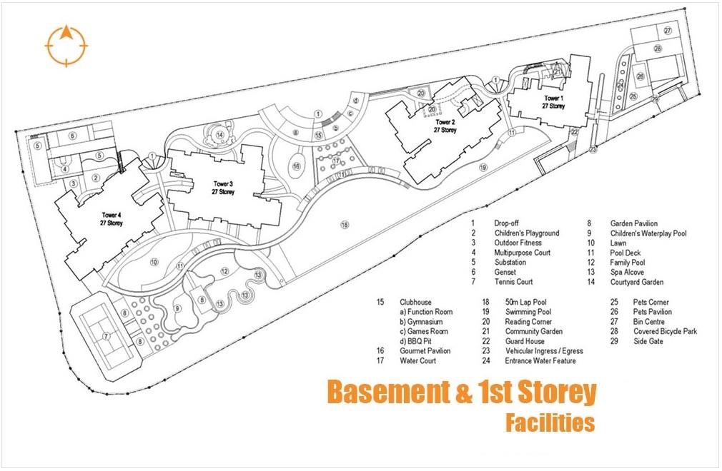 Basement & 1st Storey