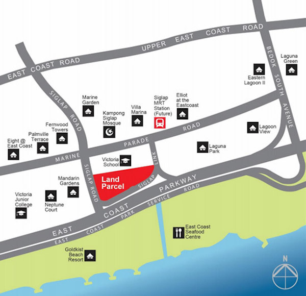 Siglap-Residences-location-map